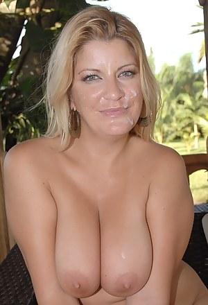 Big Boobs Facial Porn Pictures